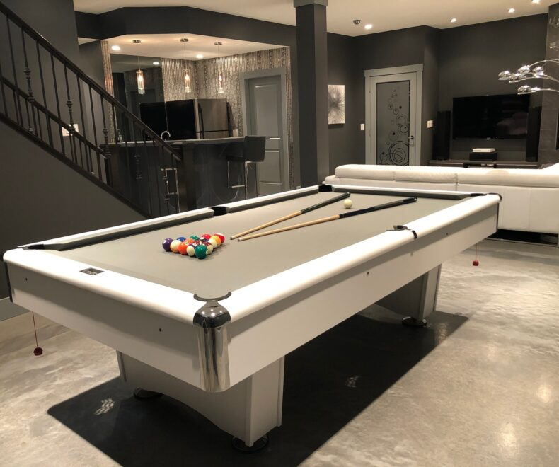 3 M Di Noc Wrapped Pool Table Top After