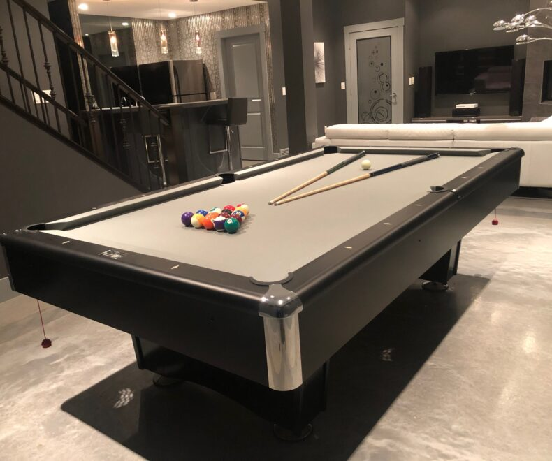 3 M Di Noc Wrapped Pool Table Top Before