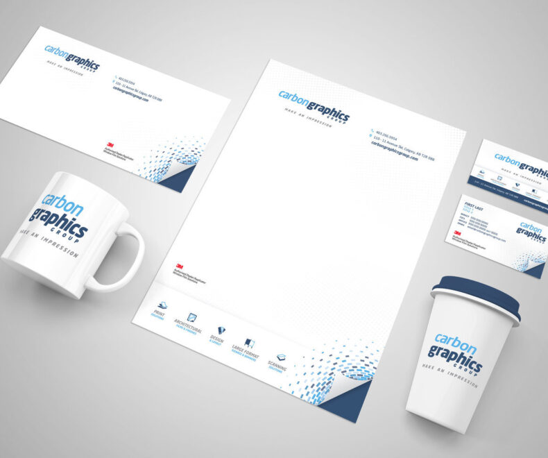 Carbon Graphics Group Branding