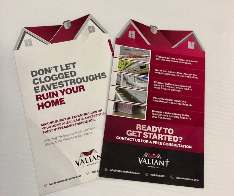 Valiant Exteriors Mail Campaign