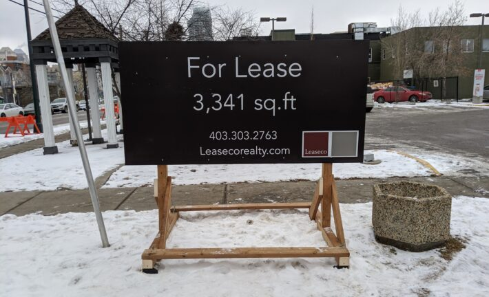 Leaseco For Lease Sign
